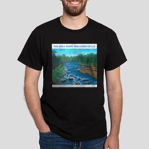 THE WOLF RIVER Dark T-Shirt