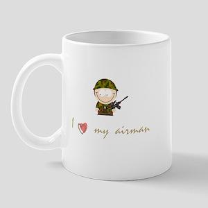 I love my airman Mug
