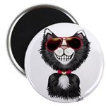 Black-White Cartoon Cat (sg 2.25