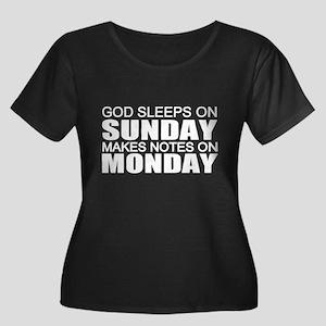 Anti-religion Plus Size T-Shirt