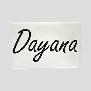 Dayana artistic Name Design Magnets