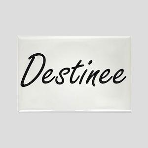 Destinee artistic Name Design Magnets