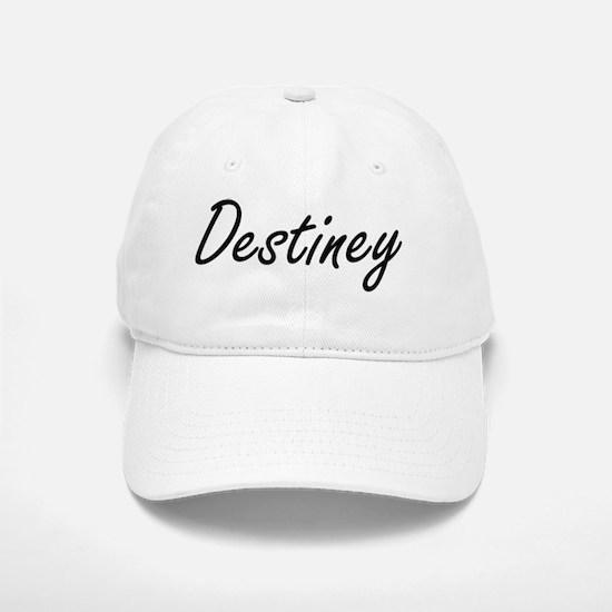 Destiney artistic Name Design Baseball Baseball Cap