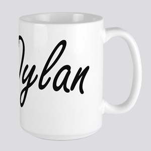 Dylan artistic Name Design Mugs