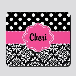 monogrammed mouse pads cafepress