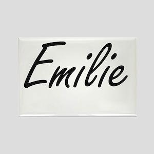 Emilie artistic Name Design Magnets