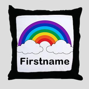 Rainbow (p) Throw Pillow