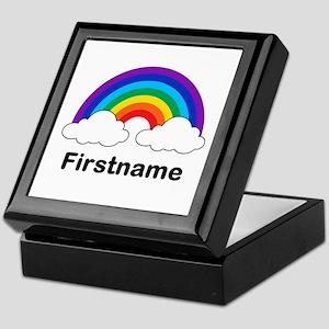 Rainbow (p) Keepsake Box
