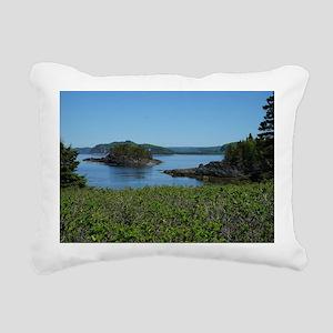 Parc national du Bic Rectangular Canvas Pillow