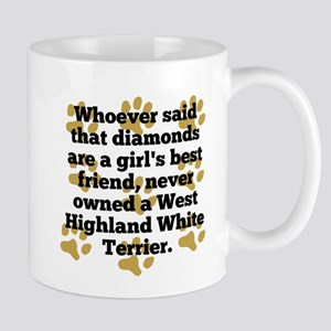 West Highland White Terriers Are A Girls Best Frie