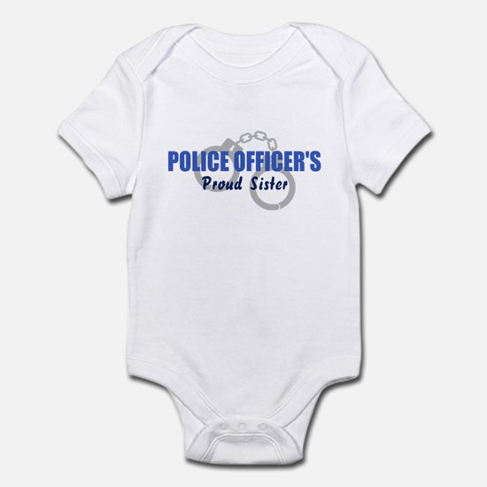 Police Officer's Sister Infant Bodysuit