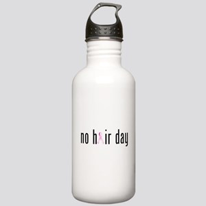 No Hair Day (pink Stainless Water Bottle 1.0l