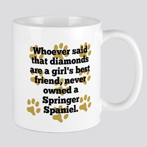 Springer Spaniels Are A Girls Best Friend Mugs