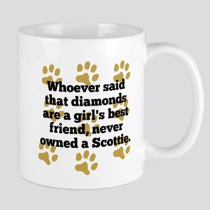 Scotties Are A Girls Best Friend Mugs