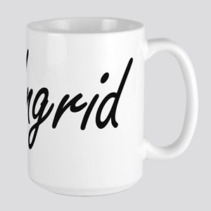 Ingrid artistic Name Design Mugs