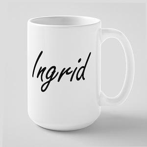 Ingrid artistic Name Design Mugs