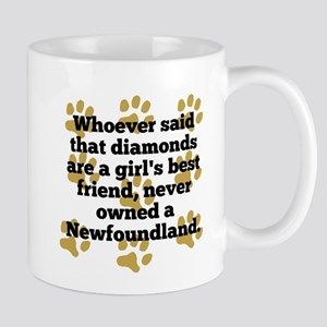 Newfoundlands Are A Girls Best Friend Mugs