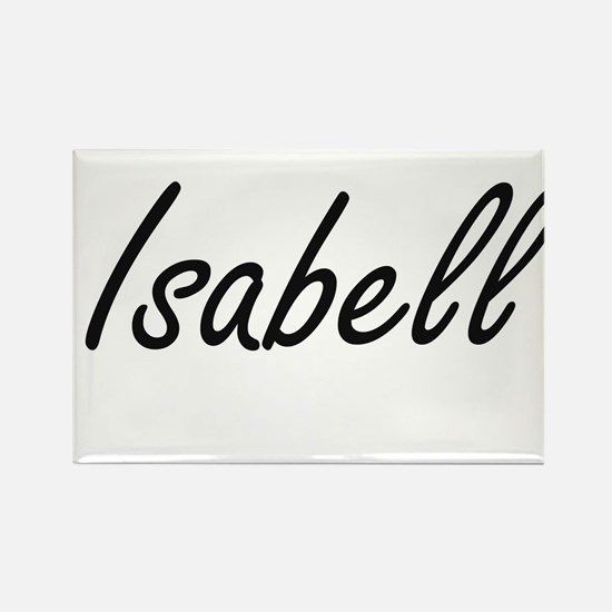 Isabell artistic Name Design Magnets