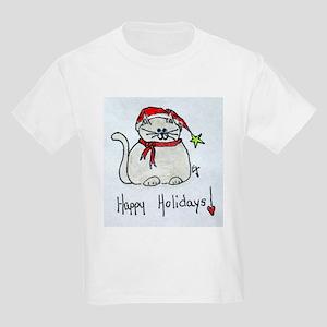 HAPPY HOLIDAYS! Original ART! Kids Light T-Shirt