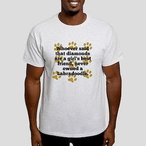Labradoodles Are A Girls Best Friend T-Shirt