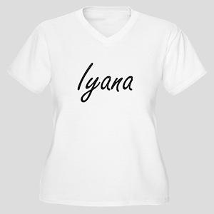 Iyana artistic Name Design Plus Size T-Shirt
