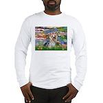 LILIES / Yorkie (T) Long Sleeve T-Shirt