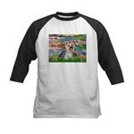 LILIES / Yorkie (T) Kids Baseball Jersey