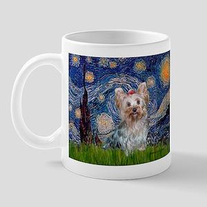 Starry Night Yorkie (T) Mug