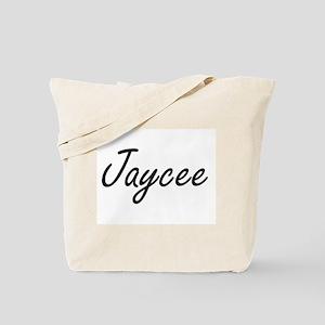 Jaycee artistic Name Design Tote Bag