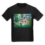 Bridge / Yorkie (T) Kids Dark T-Shirt