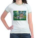 Bridge / Yorkie (T) Jr. Ringer T-Shirt
