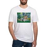 Bridge / Yorkie (T) Fitted T-Shirt