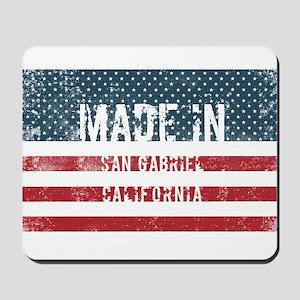 Made in San Gabriel, California Mousepad