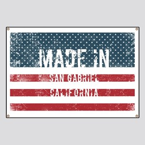Made in San Gabriel, California Banner