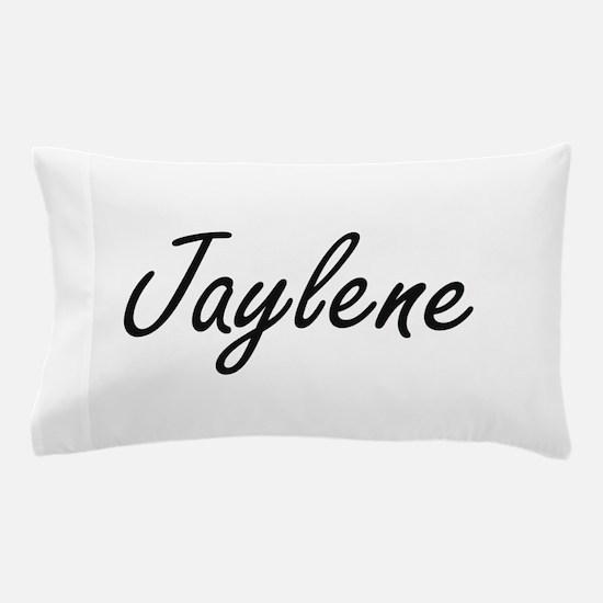 Jaylene artistic Name Design Pillow Case