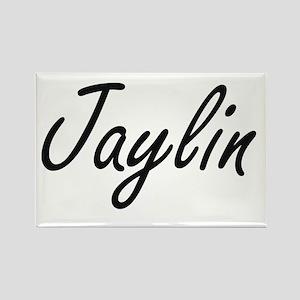 Jaylin artistic Name Design Magnets