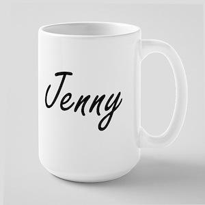 Jenny artistic Name Design Mugs