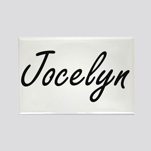 Jocelyn artistic Name Design Magnets