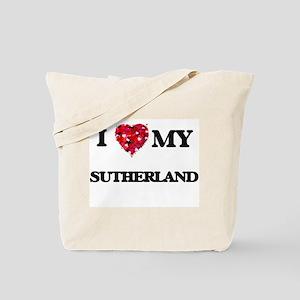 I Love MY Sutherland Tote Bag