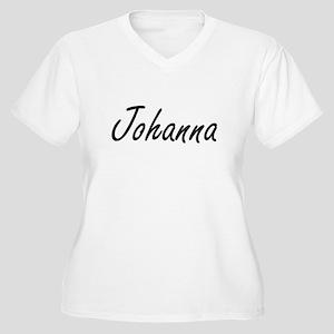 Johanna artistic Name Design Plus Size T-Shirt