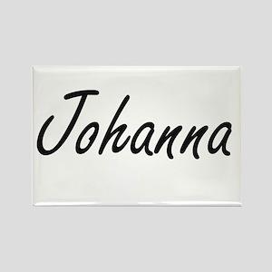 Johanna artistic Name Design Magnets