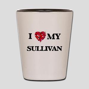 I Love MY Sullivan Shot Glass