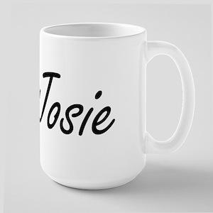 Josie artistic Name Design Mugs