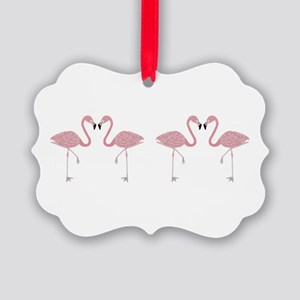 Flamingo Picture Ornament