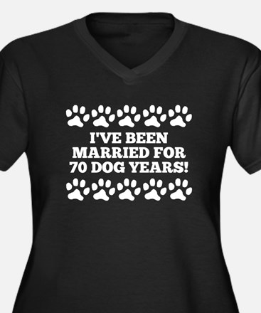 10th Anniversary Dog Years Plus Size T-Shirt
