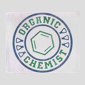 Organic Chemist Throw Blanket