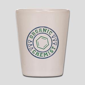 Organic Chemist Shot Glass