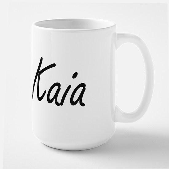 Kaia artistic Name Design Mugs
