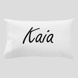 Kaia artistic Name Design Pillow Case