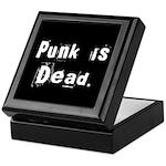 Punk is Dead Keepsake Box